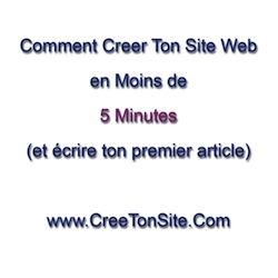 créer son site en moins de 5 minutes